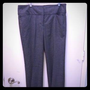 Grey woven slacks/pants